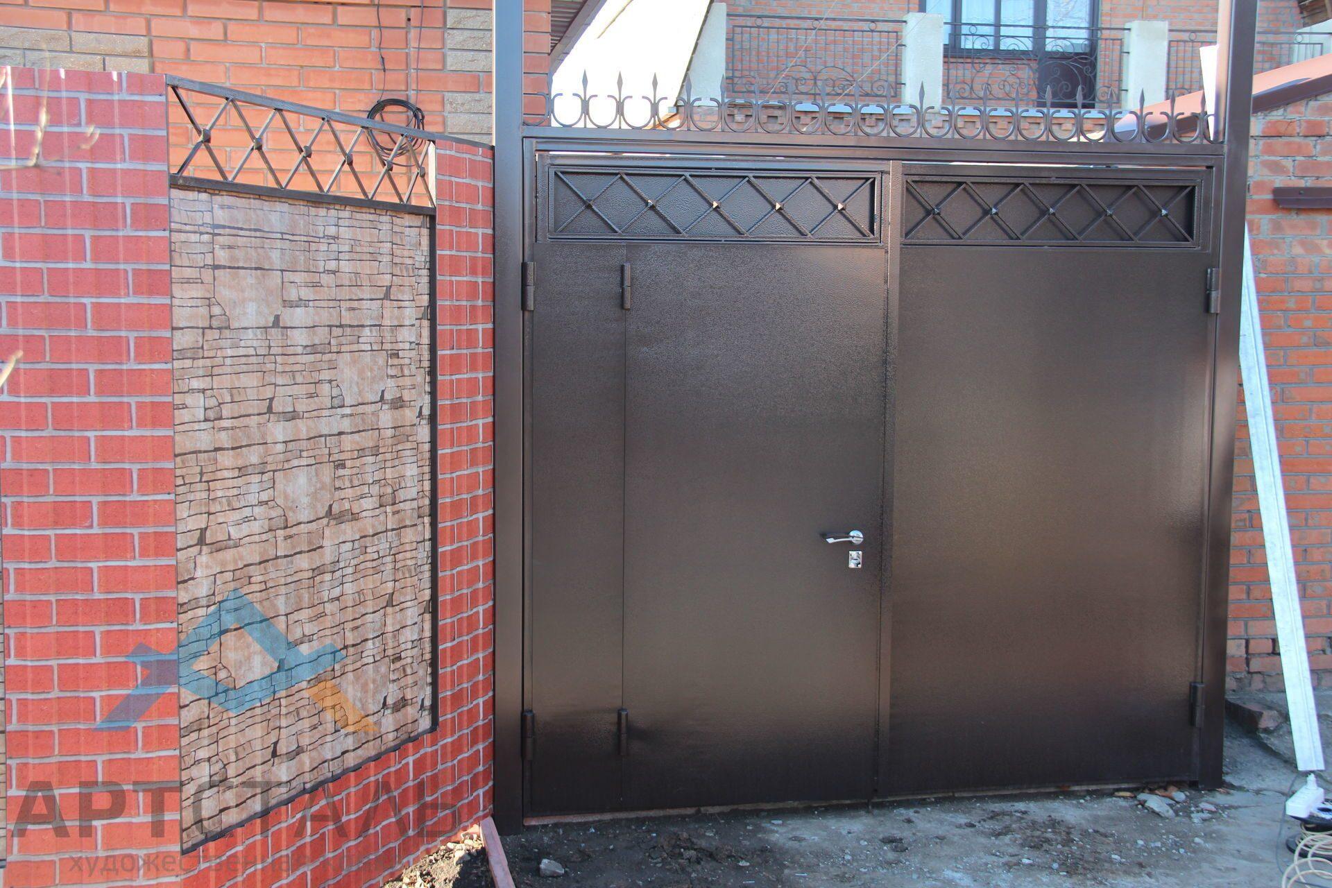 Таганрог ворота галерея ворота калитки